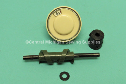 Necchi Sewing Machine SuperNova Julia Stitch Length Gear & Dial