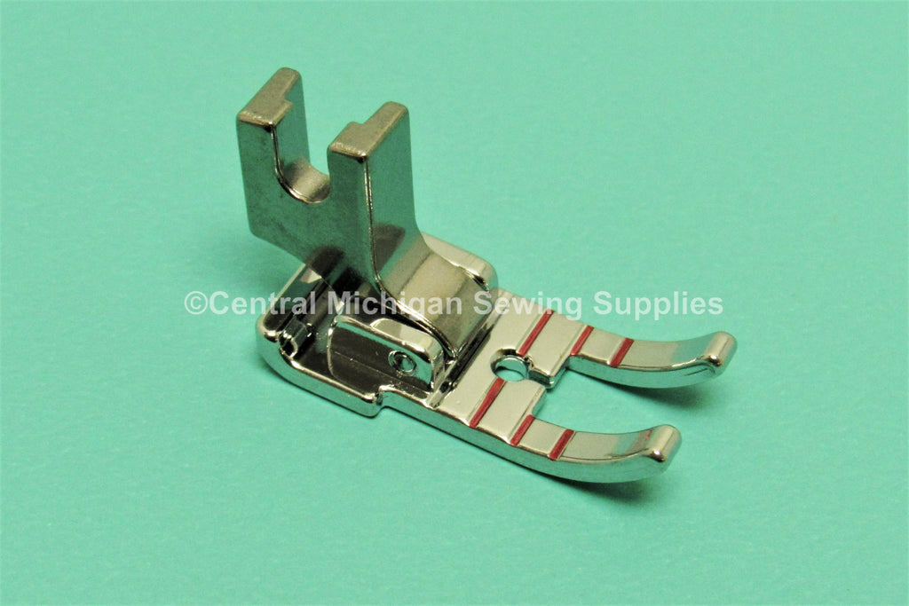 "Singer Low Shank 1/4"" Quilting Foot Fit Models 27, 28, 66, 99, 15, 201, 206, 221, 222, 237, 239, 242, 247, 248, 252, 257, 306, 319"