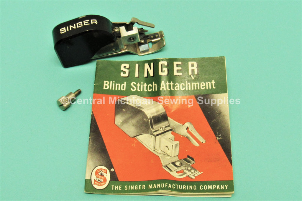 Vintage Original Singer Blind Stitch Attachment Low Shank Fits Models 27, 28, 15, 66, 99, 201, 221