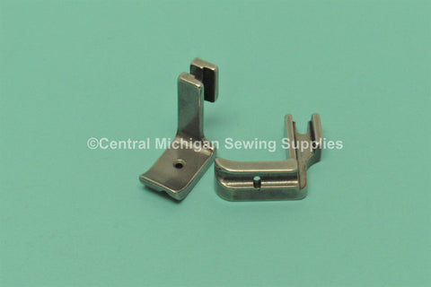 "Piping / Cording Foot RIGHT Available In 1/16"", 1/8"", 3/16"", 1/4"", 3/8"", 1/2"" Fits Singer Industrial 191, 195K, 196K, 241, 245, 251, 281, 31, 331K, 366K, 400W, 44, 451K, 491, 591D, 600W, 660A, 770D, 771D, 95, 96"