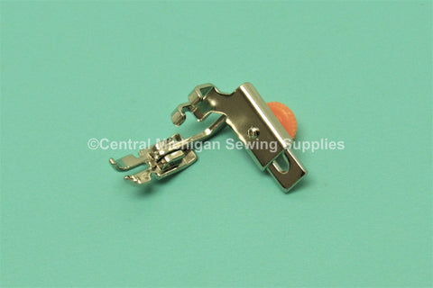 Adjustable Combination Zipper Foot & Straight Stitch Foot Fits Low Shank