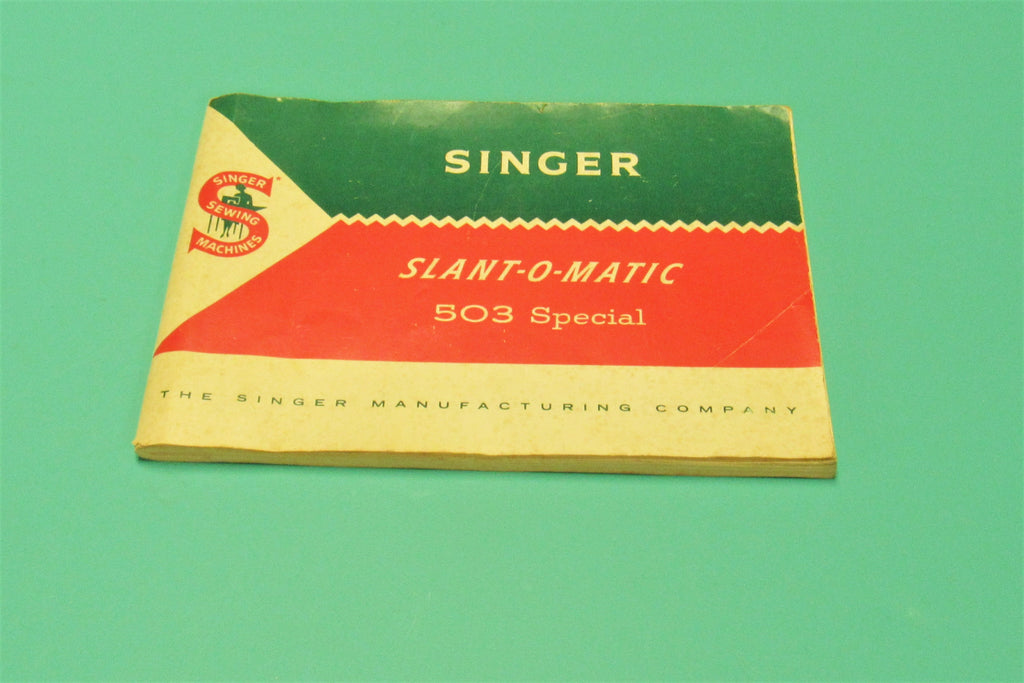 Original Singer Sewing machine Model 503 Instruction Manual