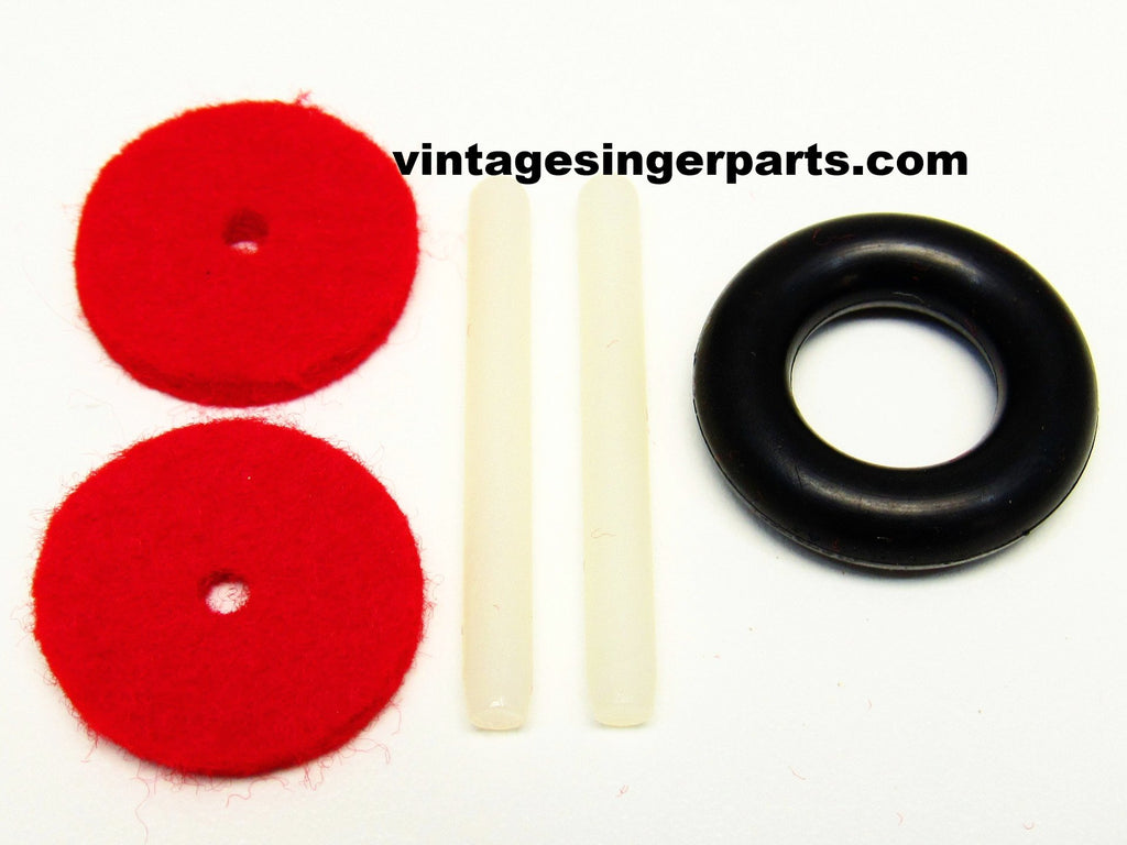 Singer Plastic Spool Pin Kit Fit Models 401, 403, 404,  418, 457, 466, 476, 477, 478, 502, 507, 509, 513, 514, 518, 522, 527, 533, 534, 538