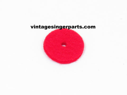 Spool Pin Felt Pad Red 3 mm Thick