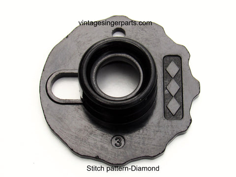 Original Singer Top Hat Cam # 3 Diamond 172189 Fits Models 401, 403, 411, 431, 500, 503, 600 series