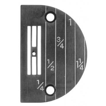 Needle Plate With Line Gauge - Singer Part # 142061