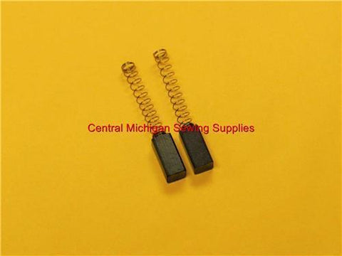 (2) Carbon Motor Brushes with Springs 5 mm x 6 mm x 12 mm (Part # 440236-20)