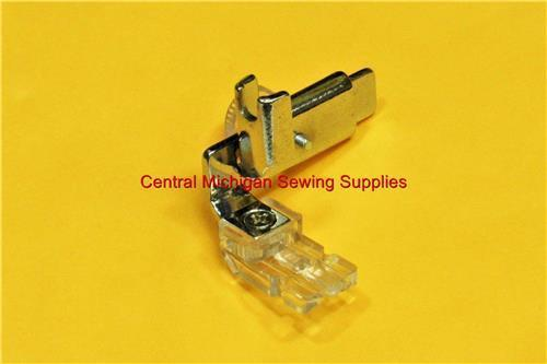 Kenmore Sewing Machine Invisible Zipper Foot Adjustable For Super High Shank