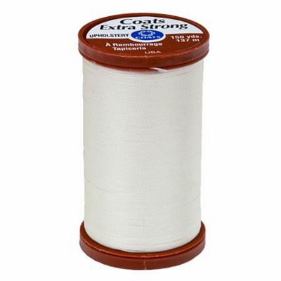 Coats & Clark 15wt Extra Strong Upholstery Thread 100% Bonded Nylon 150yds per Spool