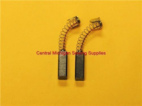 (2) Carbon Motor Brushes with Springs