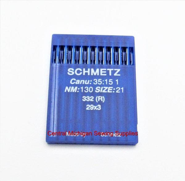 Schmezt Industrial Sewing Machine Needles 29x3 Available in Size 21, 22, 23 Fits Singer Model 29K, 29