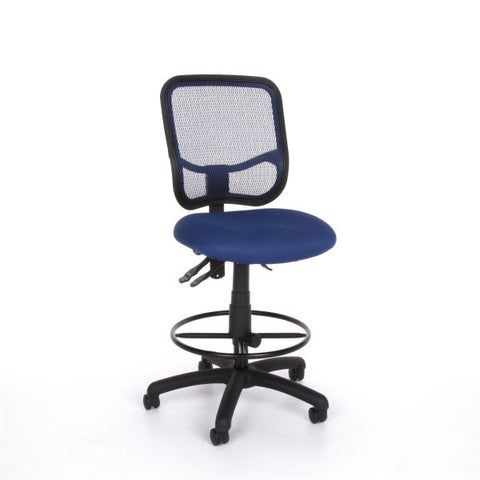OFM Mesh Comfort Series Ergonomic Task Chair With Drafting Kit Office Place