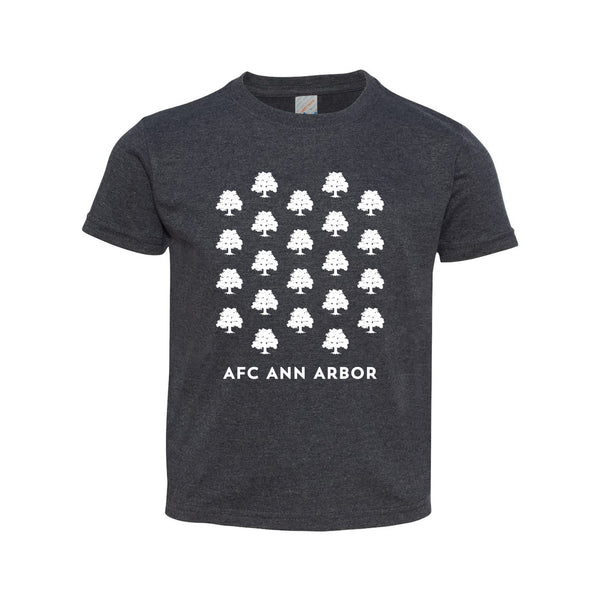 AFC Ann Arbor Oak Pattern Toddler Tee - Vtg Navy