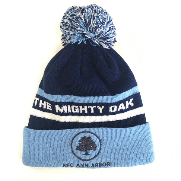 Mighty Oak Beanie with Pom
