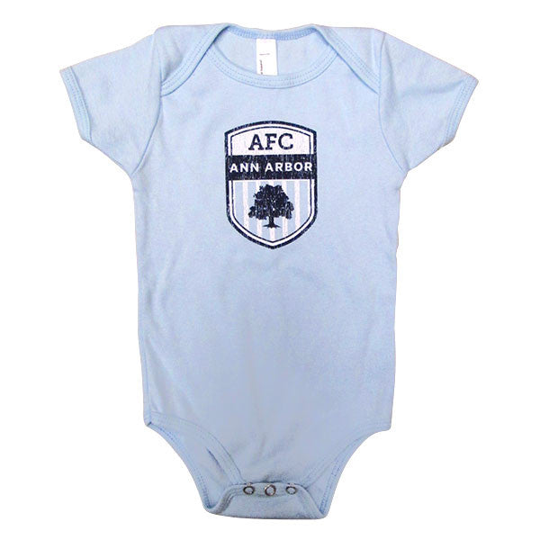 Infant Crest Onesie - Lt Blue
