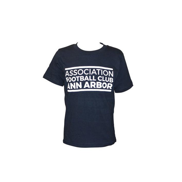 Youth Association Tee - Midnight Navy