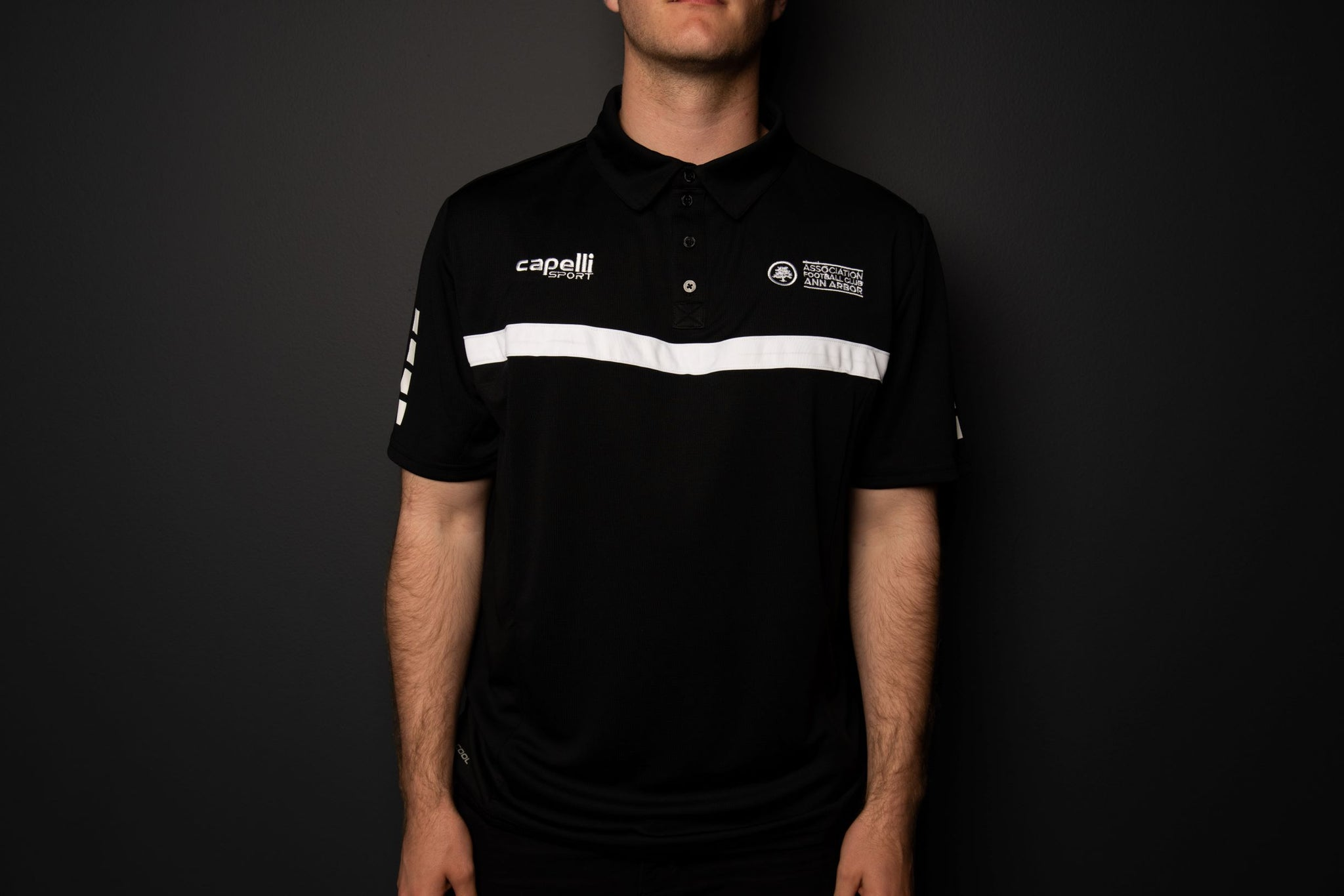 AFC AA Team Polo - Black