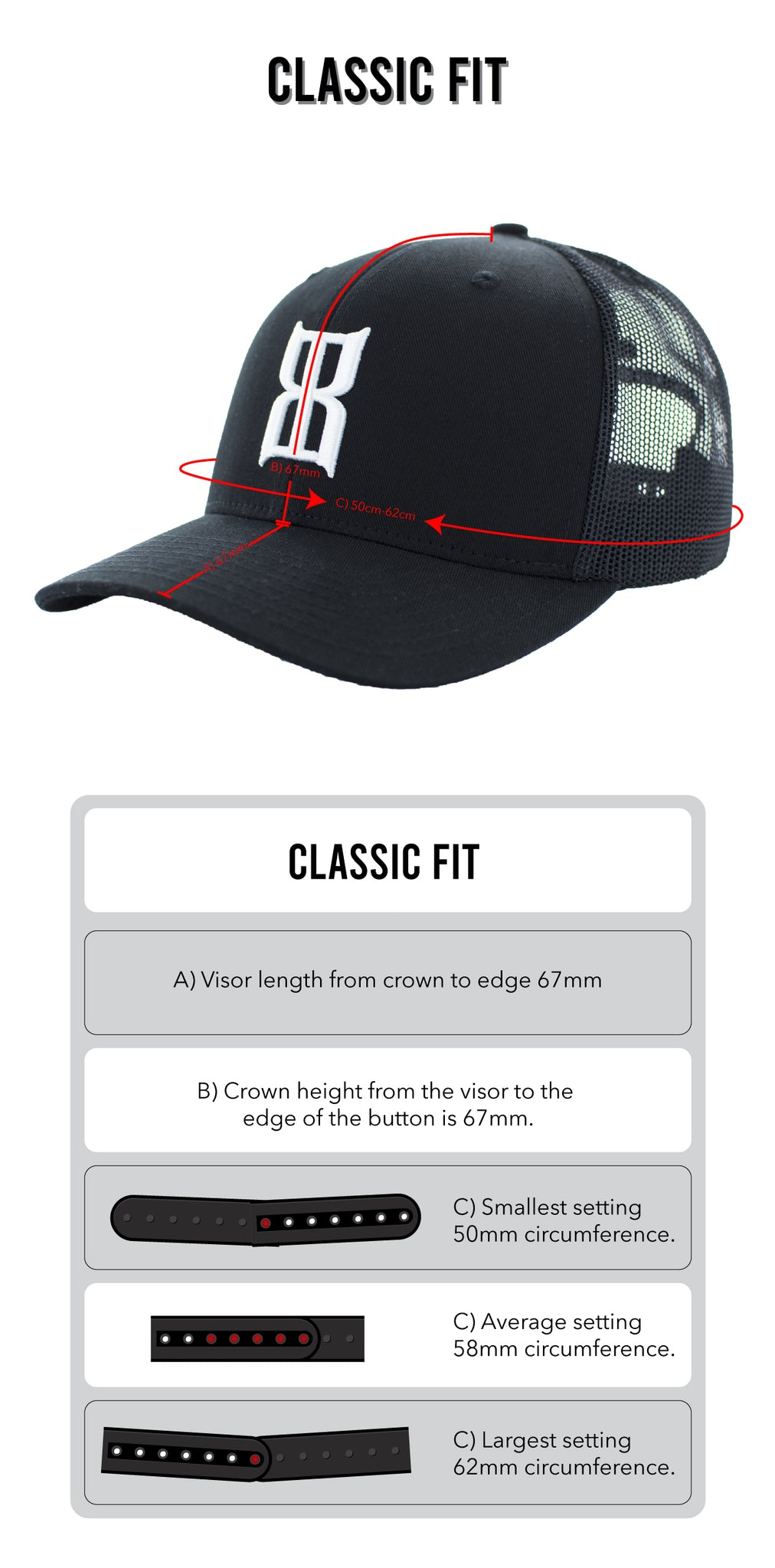 Classic Fit Guide