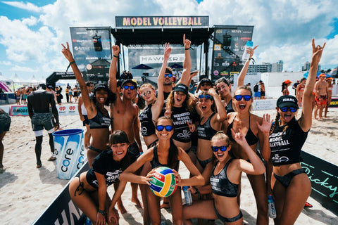 Model Volleyball and LIVE! bring energy to Miami