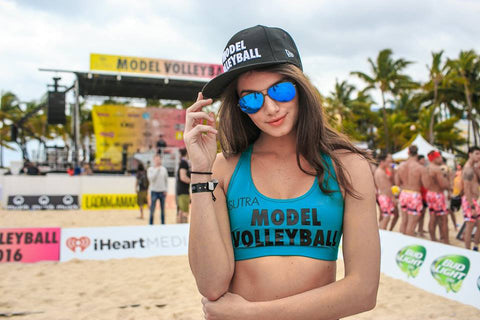 LIVE! Is the Official Sponsor of Model  Beach Volleyball in the Hamptons