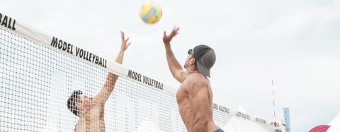 Model Volleyball Miami 2017 and LIVE! together
