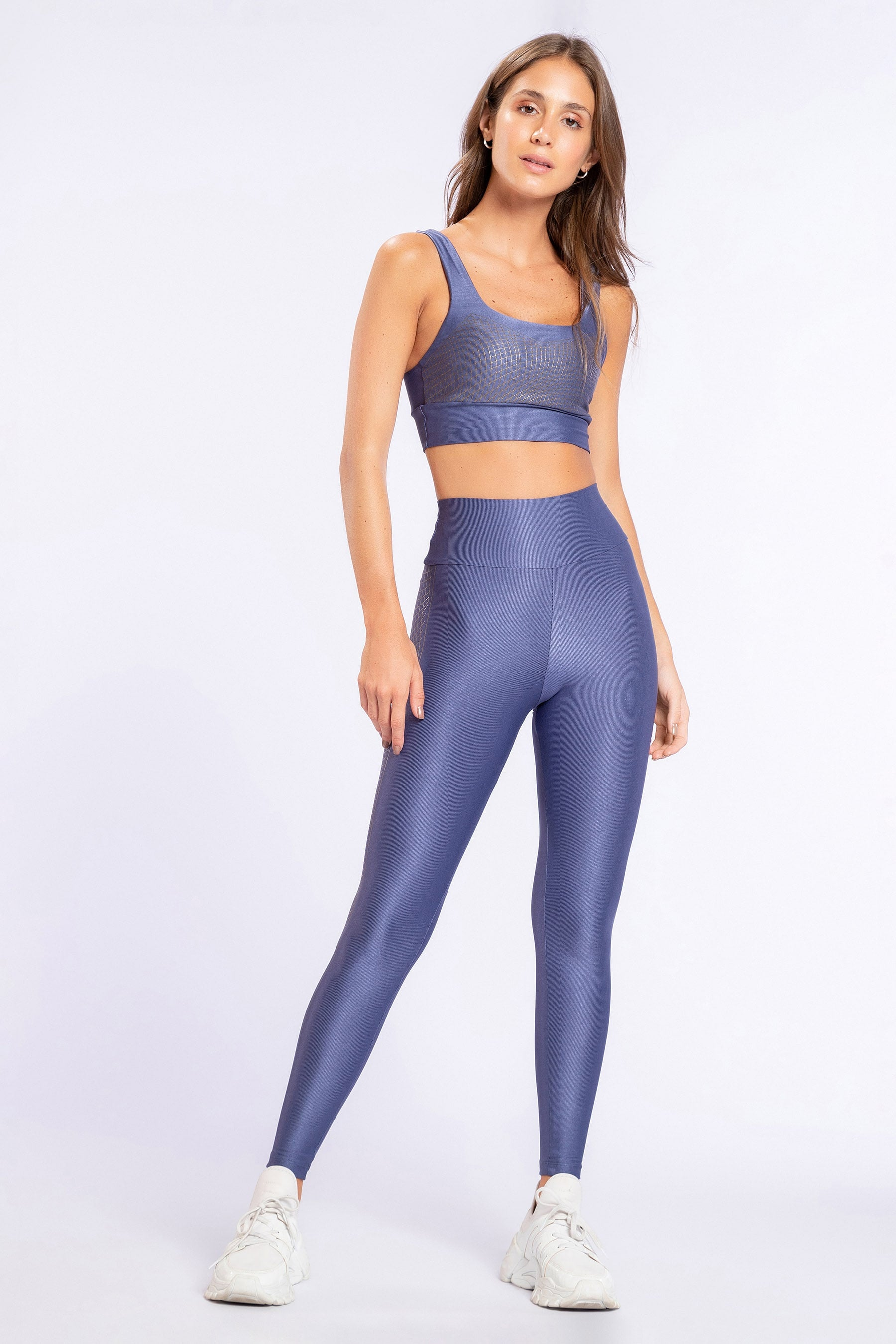 Stripe Metallic Tight