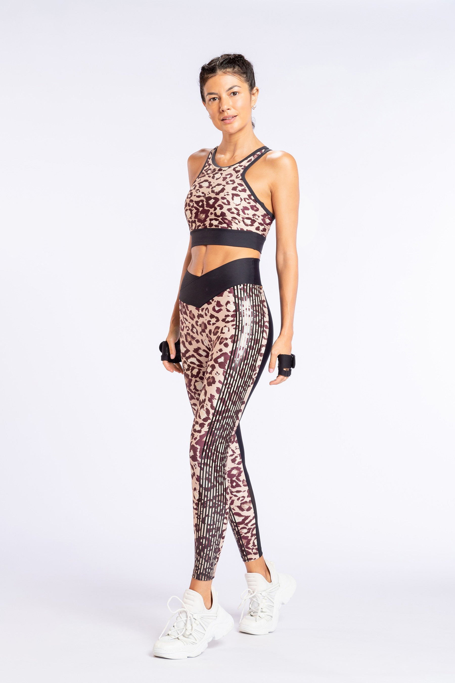 Leopard Block Legging 1