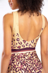 Leopard Lux One Piece