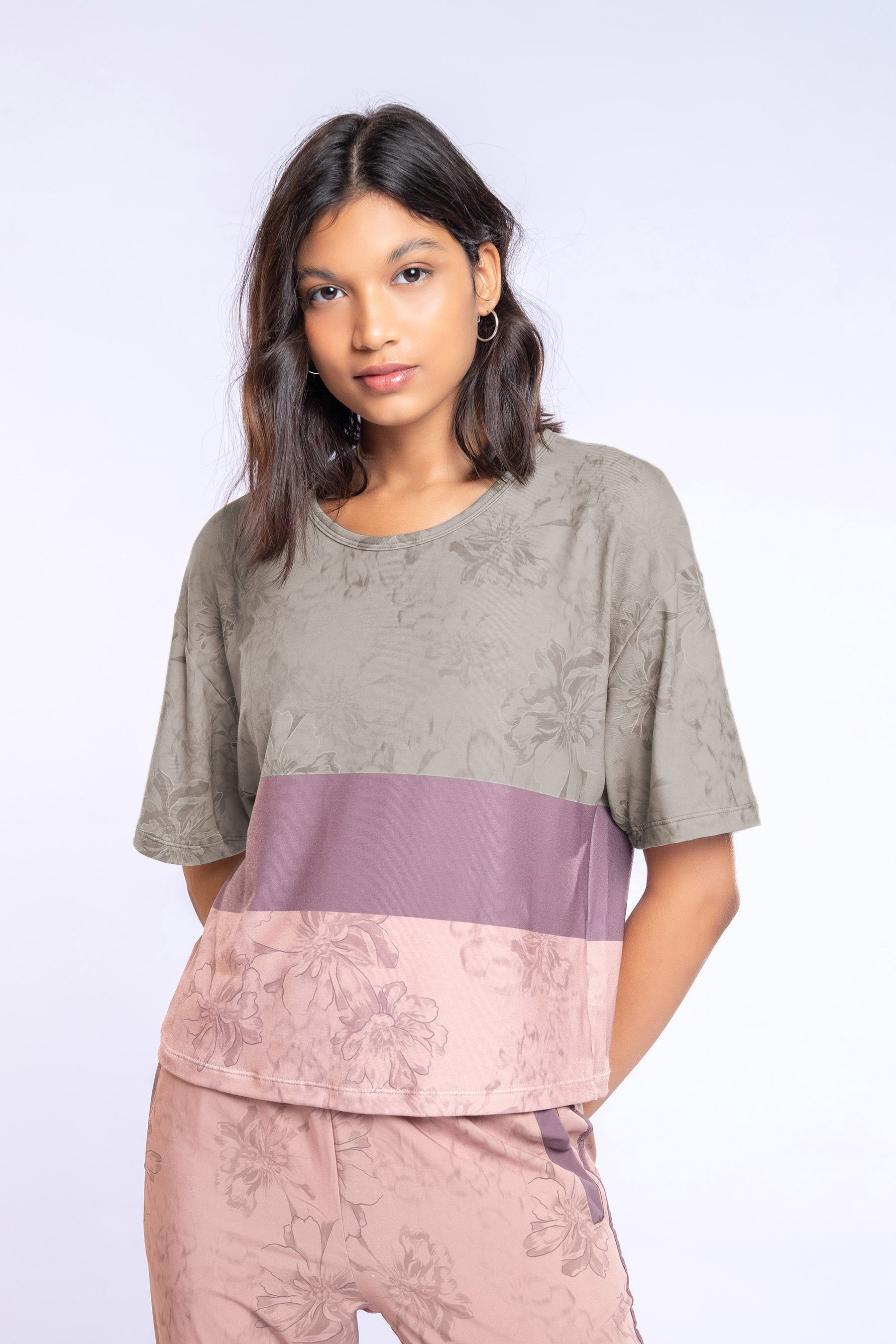 Oasis Cropped Blouse