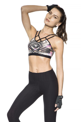 Fancy Workout Sports Bra