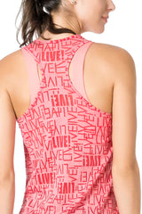 See Gym T-Back Tank Top
