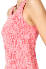 See II Gym T-Back Tank Top