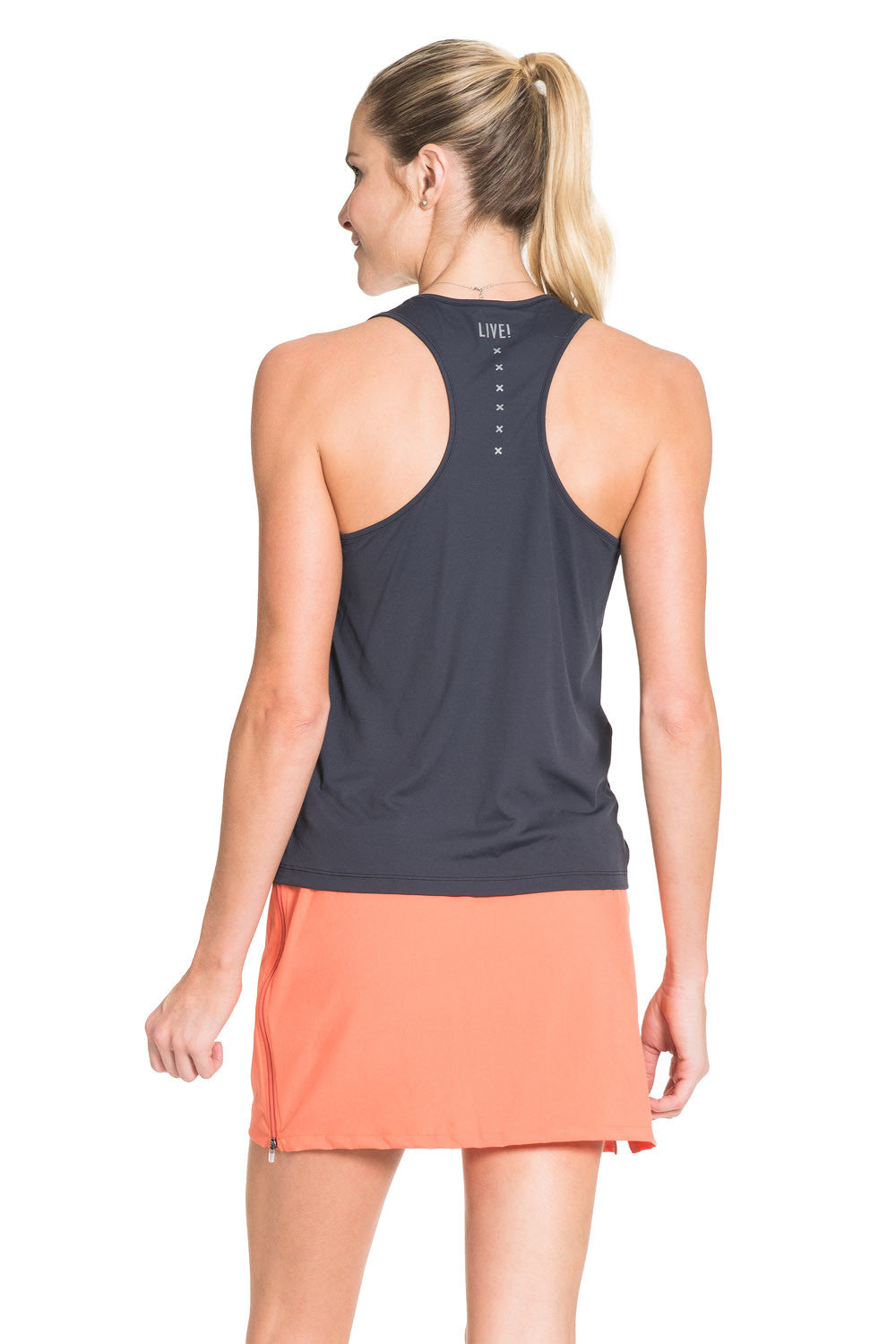 Glow Fire Color Racerback