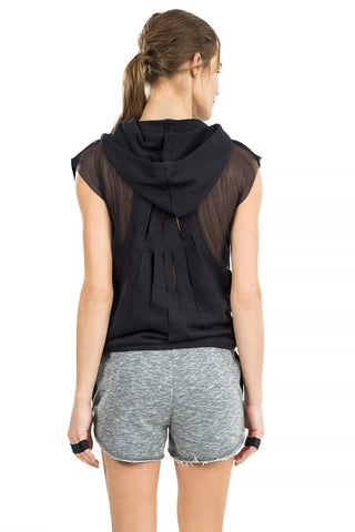 Hype Fight Cropped Hood Blouse