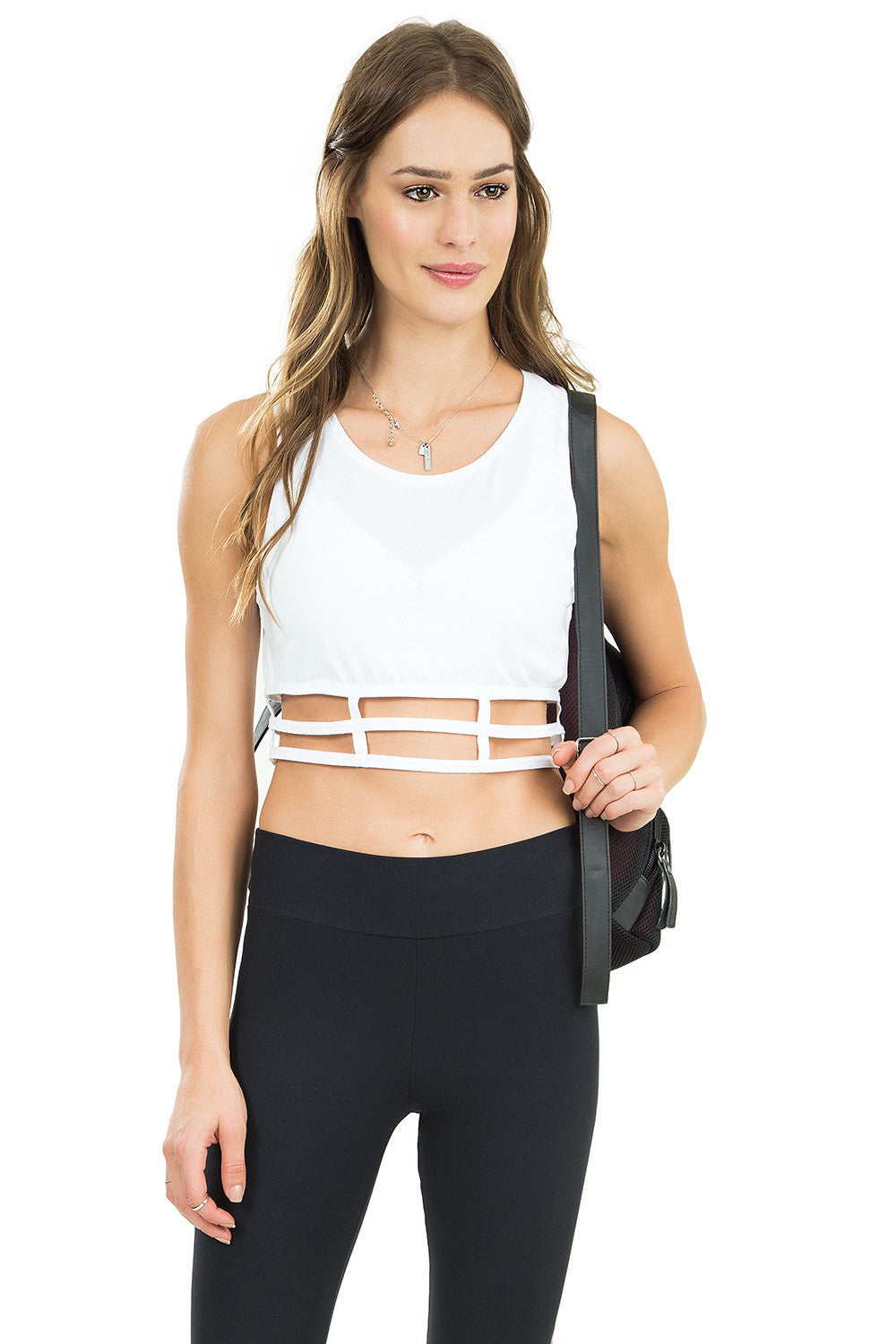 Geometric Rush Cropped Top