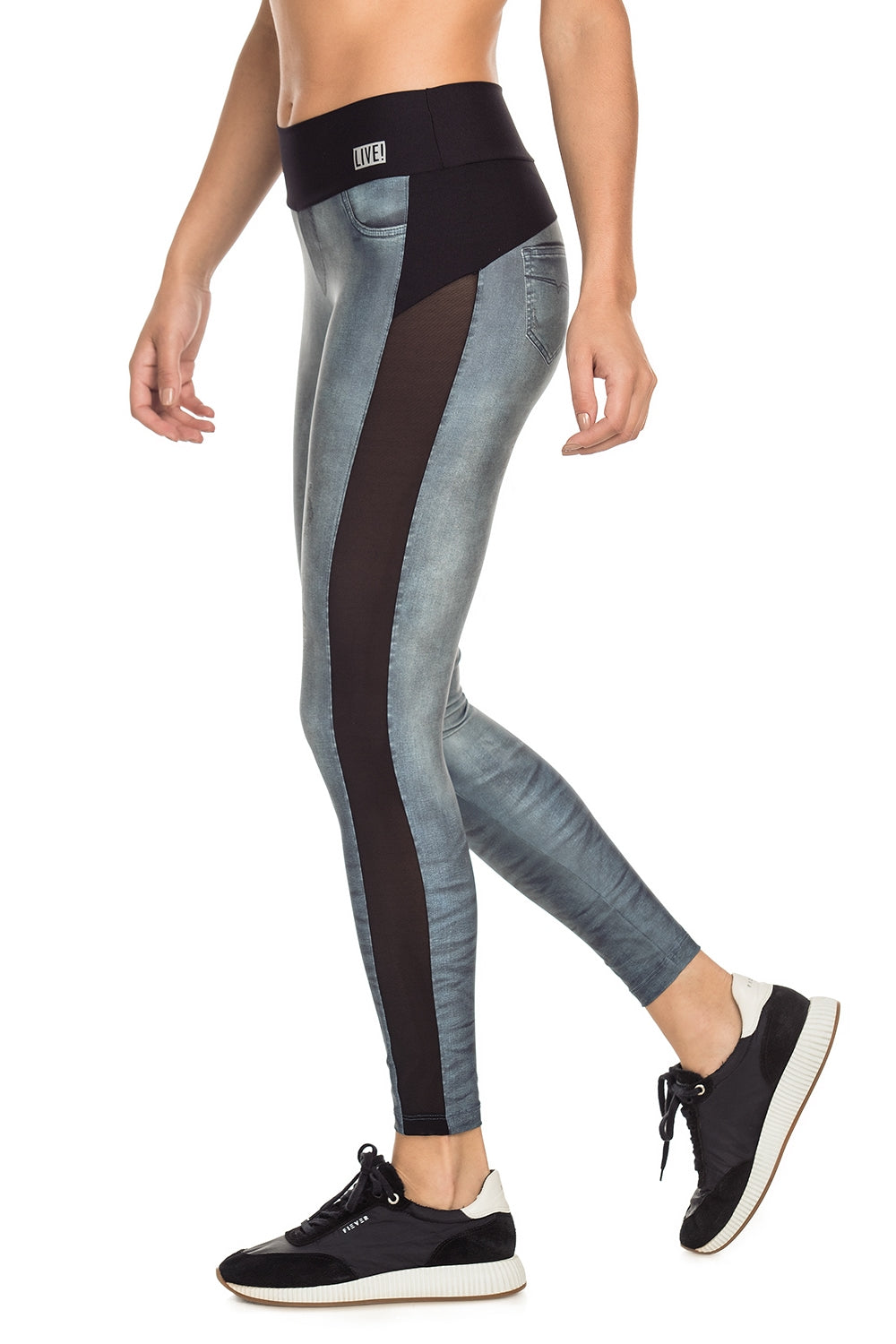 Mix And Match Denim Legging