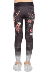 Floral View Kids Legging