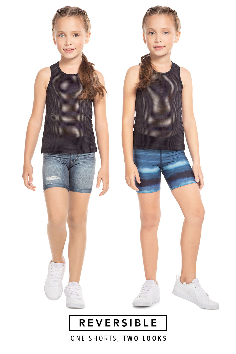 Play Rever Jeans Kids Shorts 1