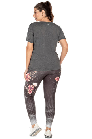 Floral View Tight (Plus Size) 2