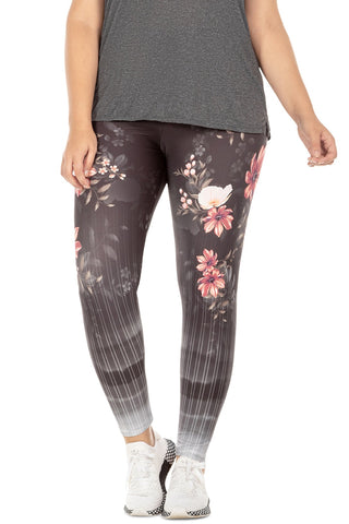Floral View Tight (Plus Size) 1