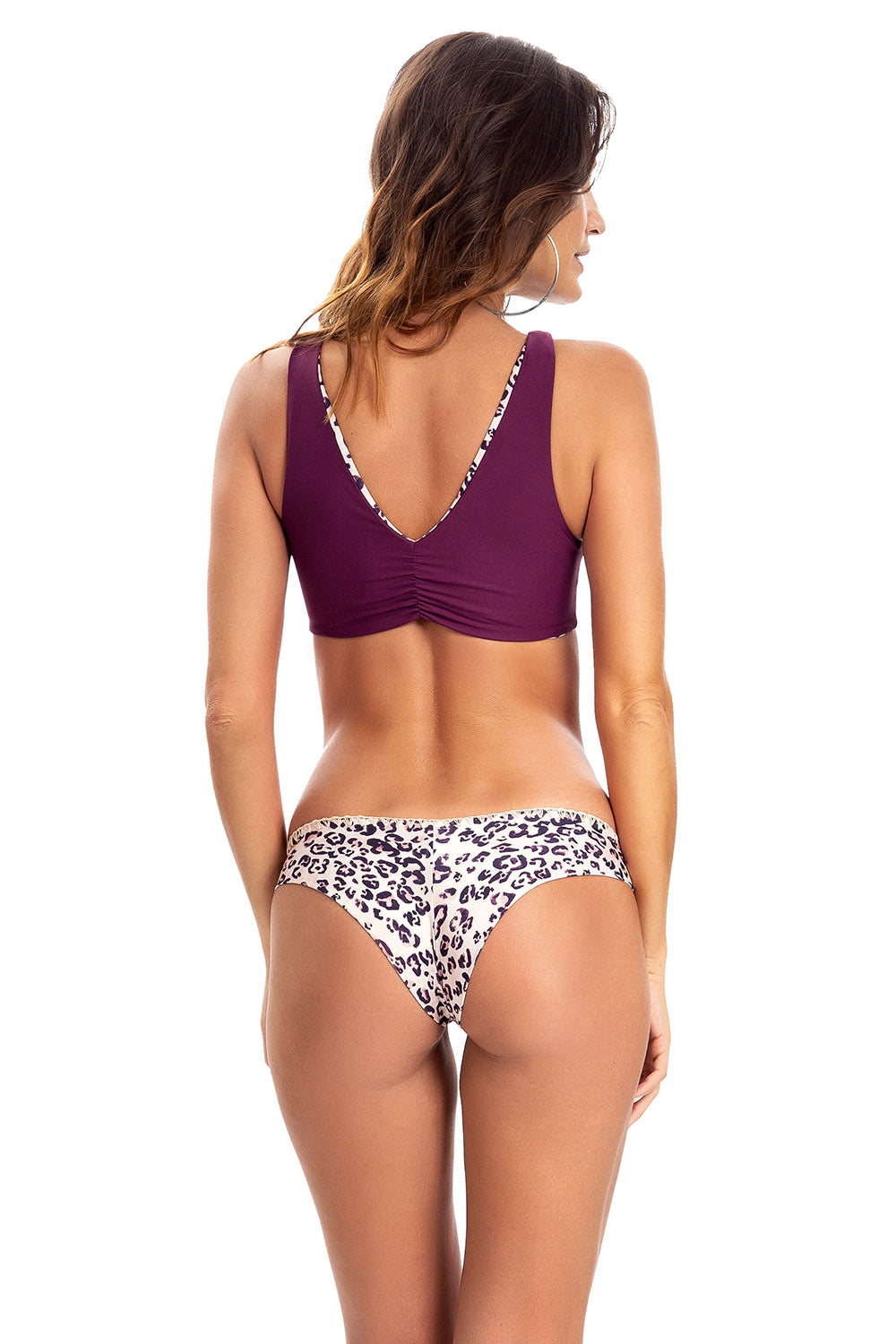 Snake Print Crochet Bottom