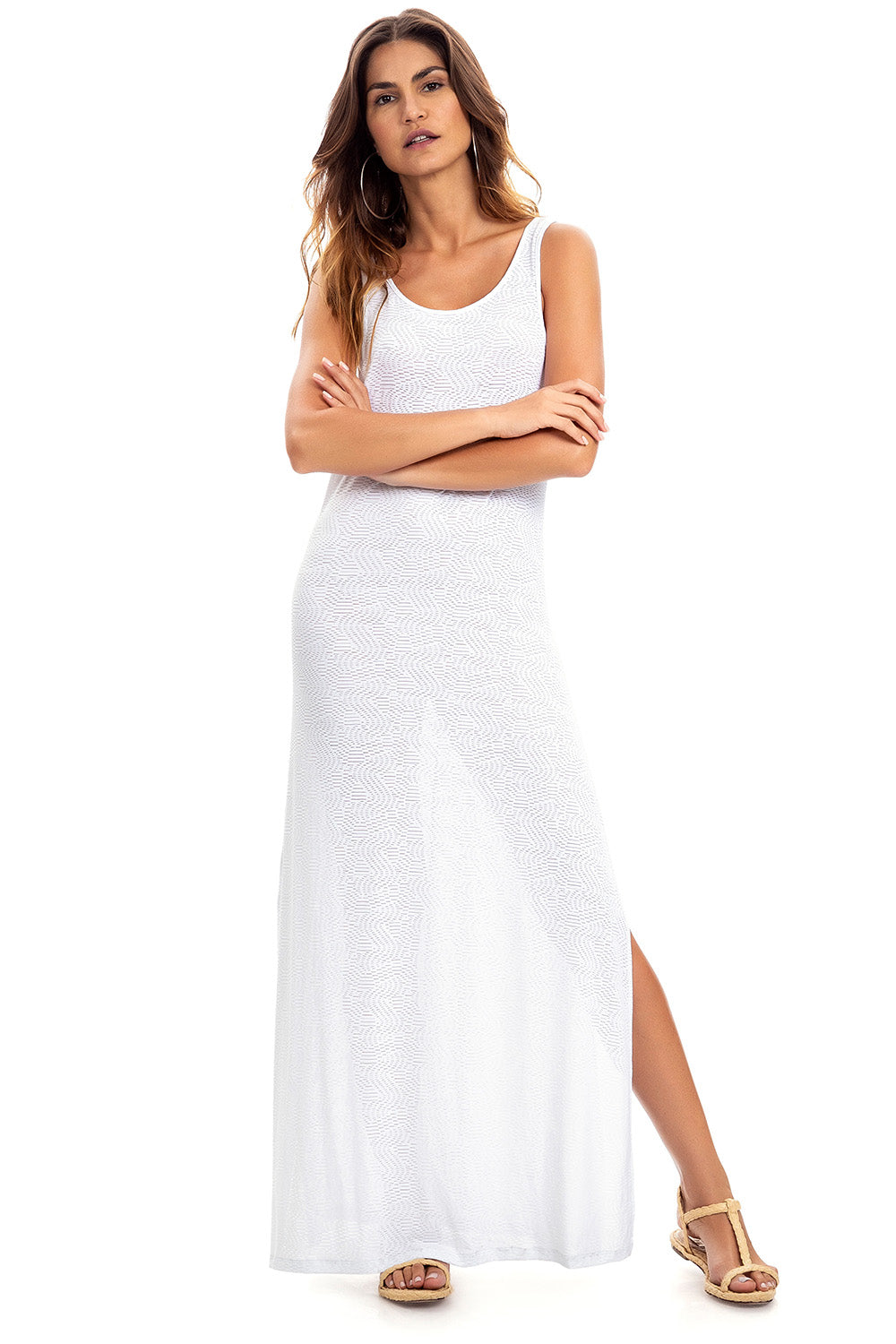 Beach Sand Essential Long Dress 1