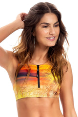 Summer Paradise Strappy Cross Top