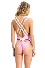 Horizon Strappy Cross One Piece