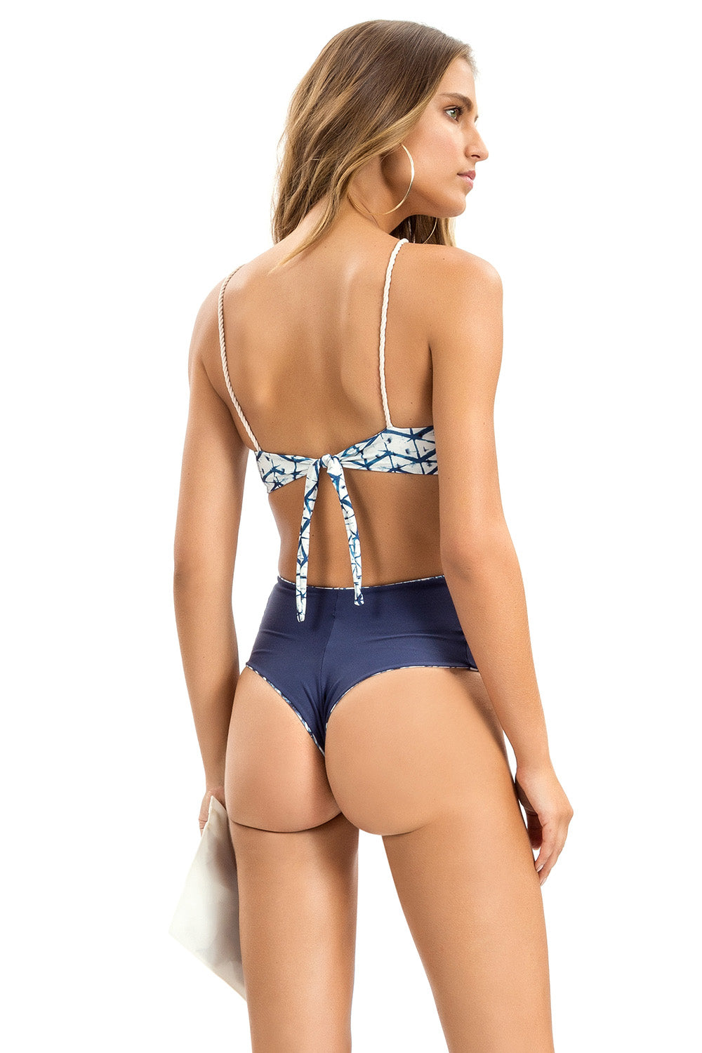 Acqua Sky Fancy Cross One Piece