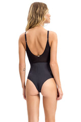 Deep V Clubber One Piece