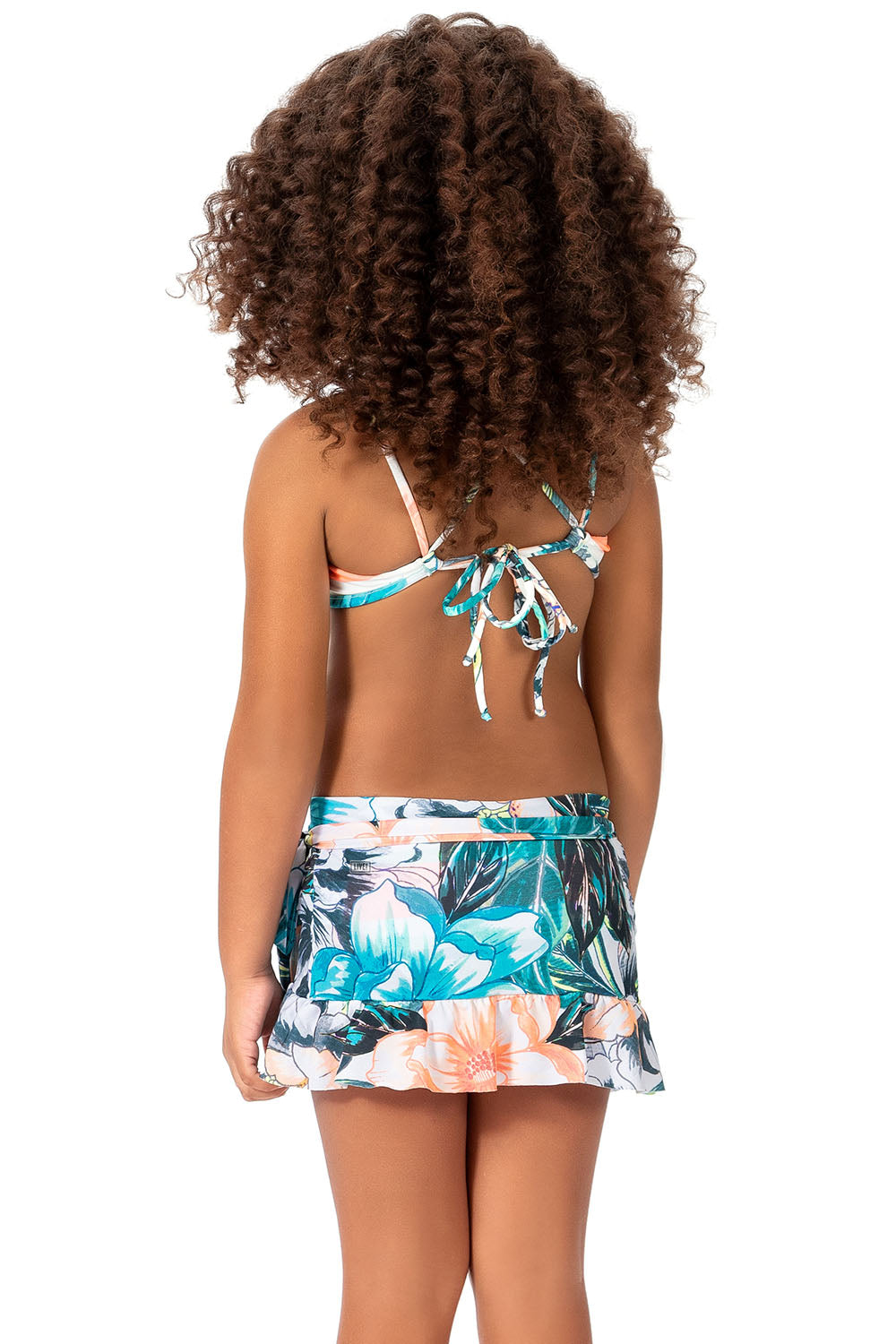 Fresh Blossom Kids Pareo Skirt
