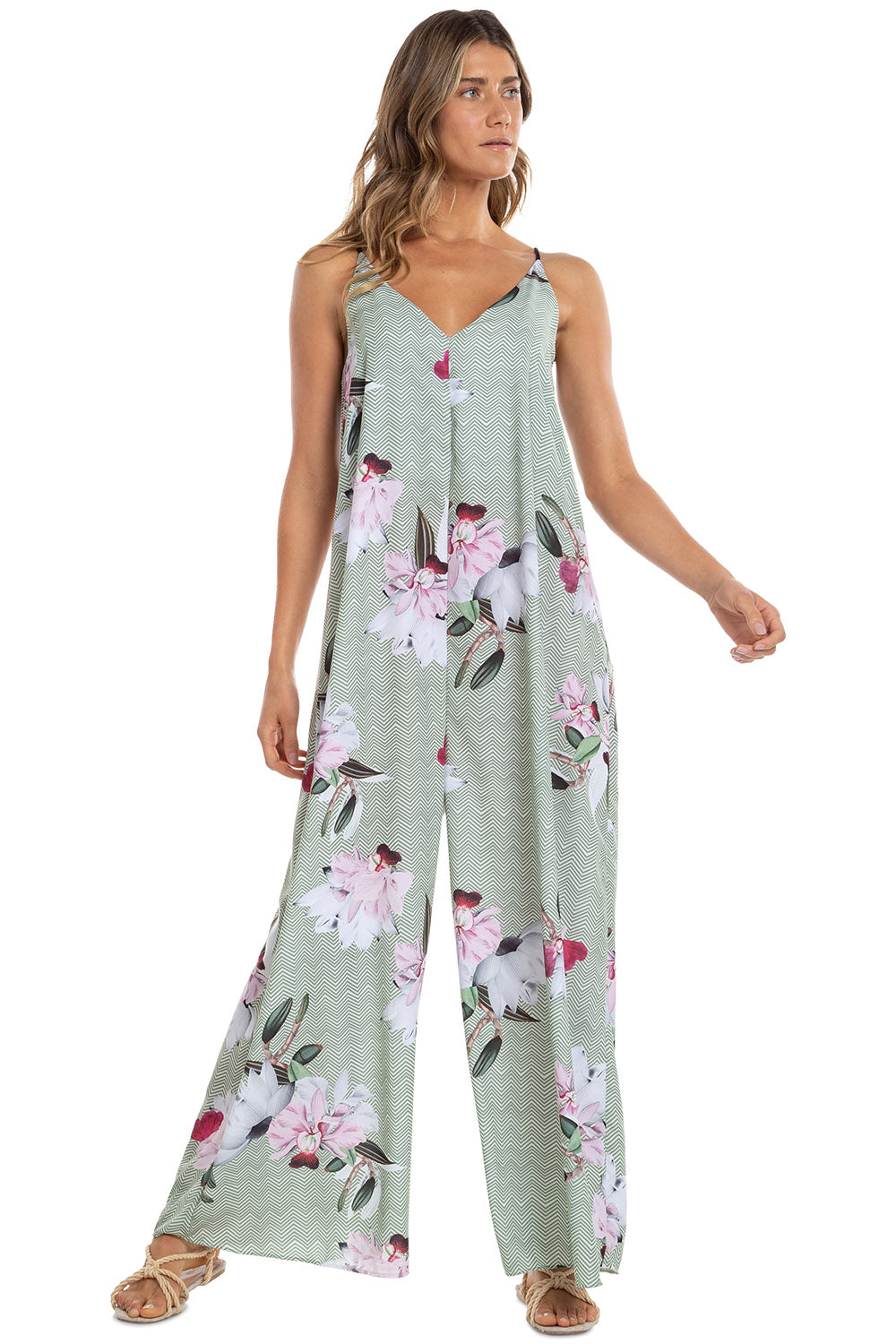 Botanic All In One Jumpsuit 1
