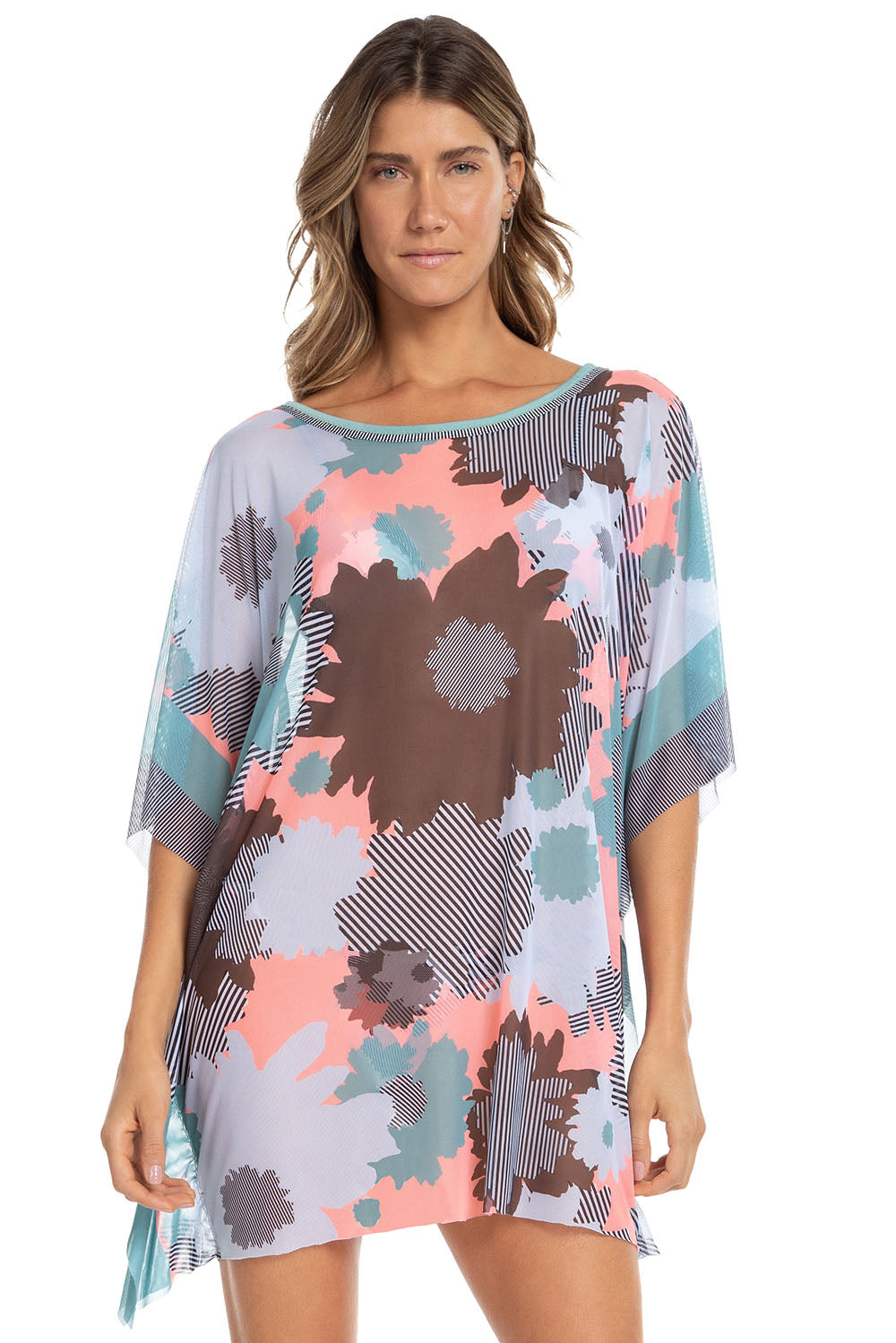 Floral Artsy All In One Kaftan 2
