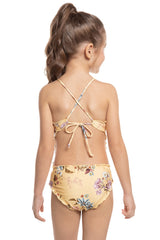 Floral Artsy Kids One Piece